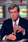 Senate Majority Leader Trent Lott discusses the ongoing Lewinsky scandal September 6, 1998 during NBC's Meet the Press in Washington, DC.