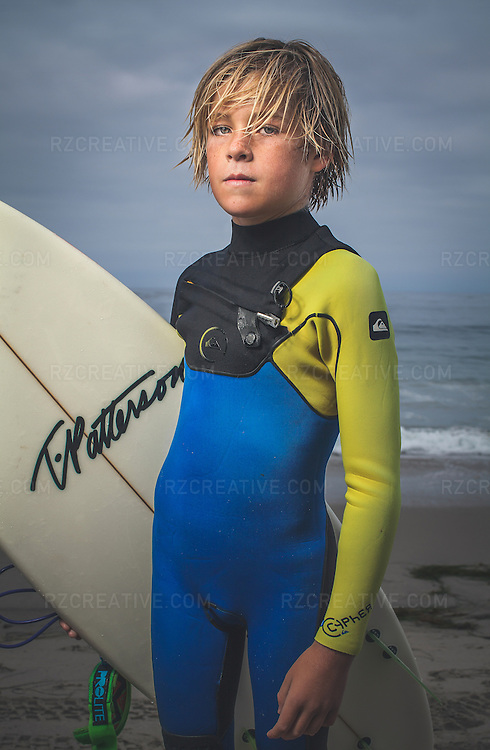 Surfer Ryder Fish Portrait Robert Zaleski