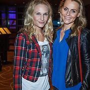 NLD/Amsterdam/20131101 - Lancering Danie Bles Style Guide 2013, Kimberly Klaver en een vriendin