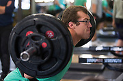 All Blacks lock Brodie Retallick during the All Blacks gym session at Les Mills, Wellington, in preparation for the 2nd test match between the All Blacks and the British & Irish Lions at Westpac Stadium, Wellington.    26   June   2017    New Zealand Herald photograph by Brett Phibbs