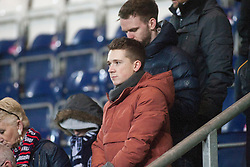 South stand at the end. Falkirk 3 v 1 St Mirren, Scottish Championship game played 3/12/2016 at The Falkirk Stadium.