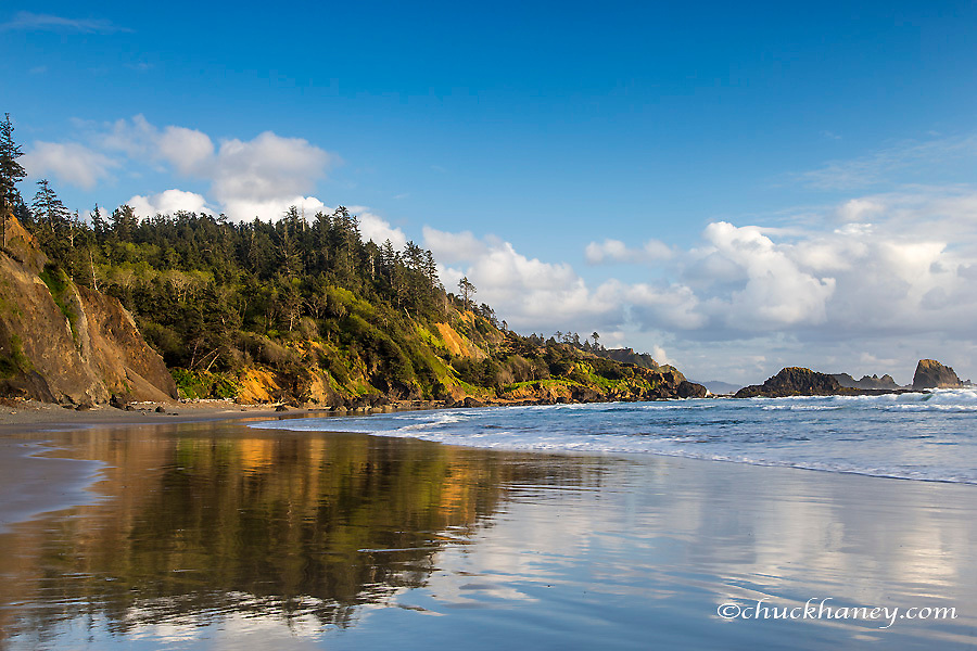 Indian Beach at Ecola State Park in Cannon Beach, Oregon, USA