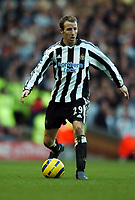 Fotball<br /> Premier League 2004/05<br /> Liverpool v Newcastle<br /> 19. desember 2004<br /> Foto: Digitalsport<br /> NORWAY ONLY<br /> Lee Bowyer <br /> Newcastle United 2004/05
