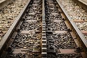 Cog railway in Wengen, Switzerland