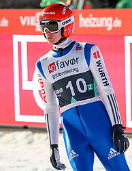 18.03.2017, Vikersundbakken, Vikersund, NOR, FIS Weltcup Ski Sprung, Raw Air, Vikersund, Team Skifliegen, im Bild Richard Freitag (GER) // Richard Freitag of Germany // during the Team Event of the 4th Stage of the Raw Air Series of FIS Ski Jumping World Cup at the Vikersundbakken in Vikersund, Norway on 2017/03/18. EXPA Pictures © 2017, PhotoCredit: EXPA/ Tadeusz Mieczynski