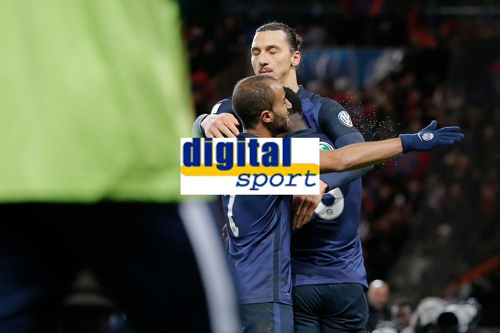 Zlatan Ibrahimovic (psg) inscrit un but