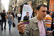 Turkije, Istanbul, 2-6-2011Verkiezingscampagne van de turkse politieke partij HAS in Istanbul in de aanloop naar de verkiezingen voor het parlement op 16 juni. Foto: Flip Franssen