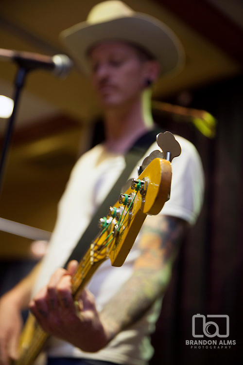 A guitarist performs at 417 Magazine's 2015 Whiskey Fest.