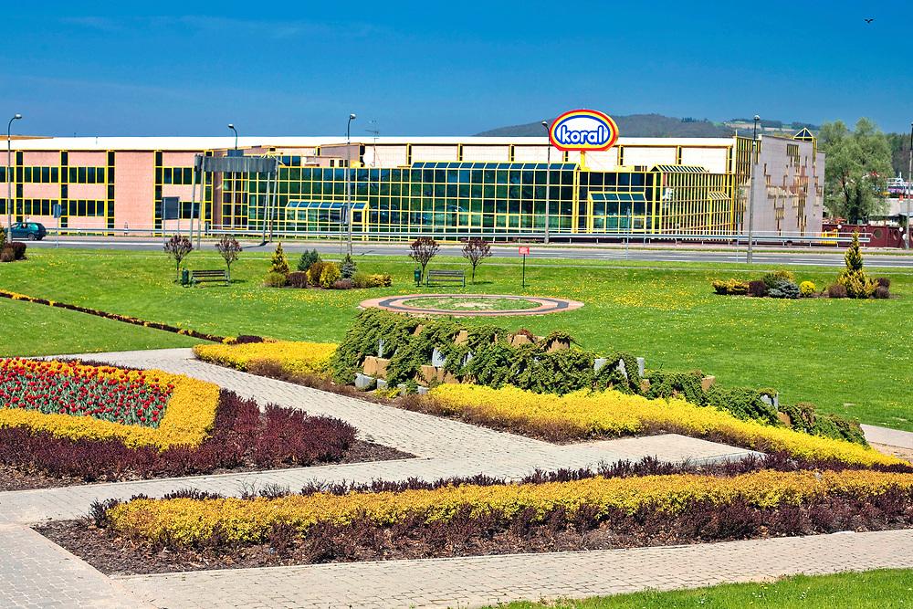 """Fabryka lodów """"Koral"""" w Nowym Sączu, Polska<br /> Ice Factory """"Koral"""" in Nowy Sącz, Poland"""