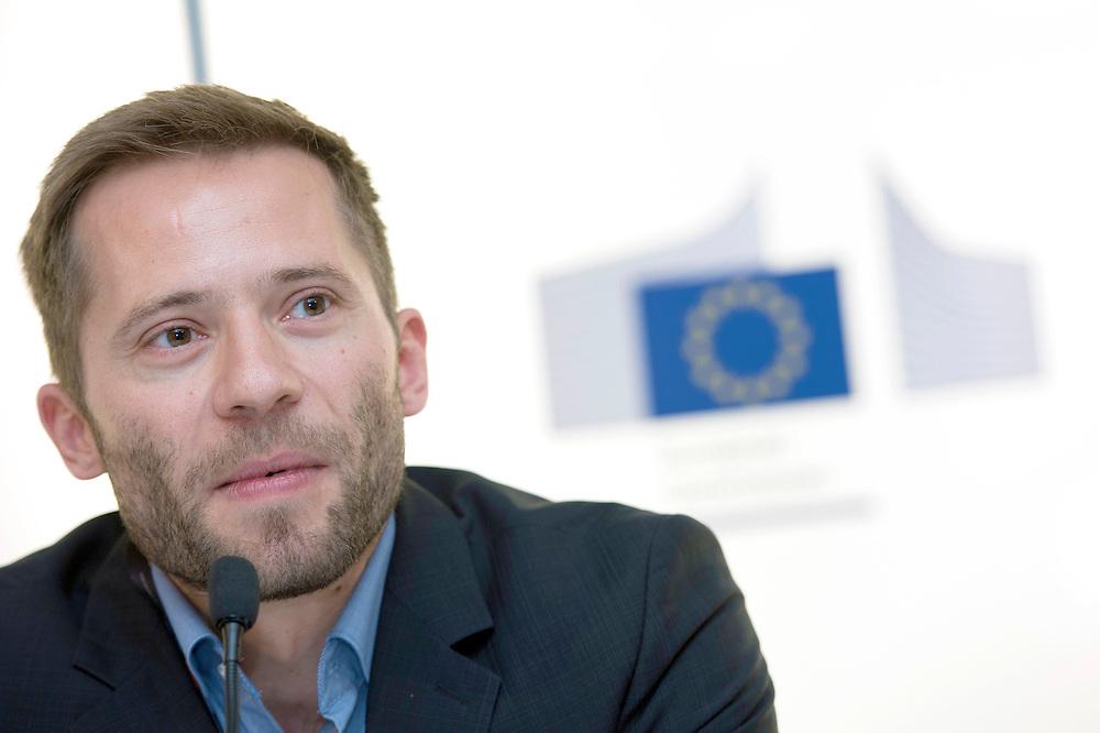 03 June 2015 - Belgium - Brussels - European Development Days - EDD - Growth - Fighting poverty through innovative business models - Michael Schlup , Partnerships Coordinator , Cocoa Sustainability , Barry Callebaut Sourcing AG © European Union