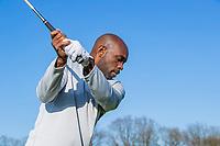 ARNHEM - Atleet Churandy Martina , sprinter,  op de golfbaan  COPYRIGHT KOEN SUYK