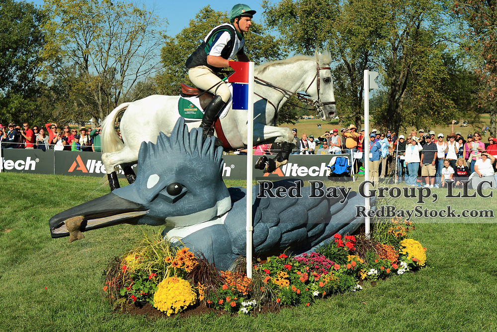 Mark Kyle and Step In Time at the 2010 Alltech FEI World Equestrian Games, Lexington, Kentucky.