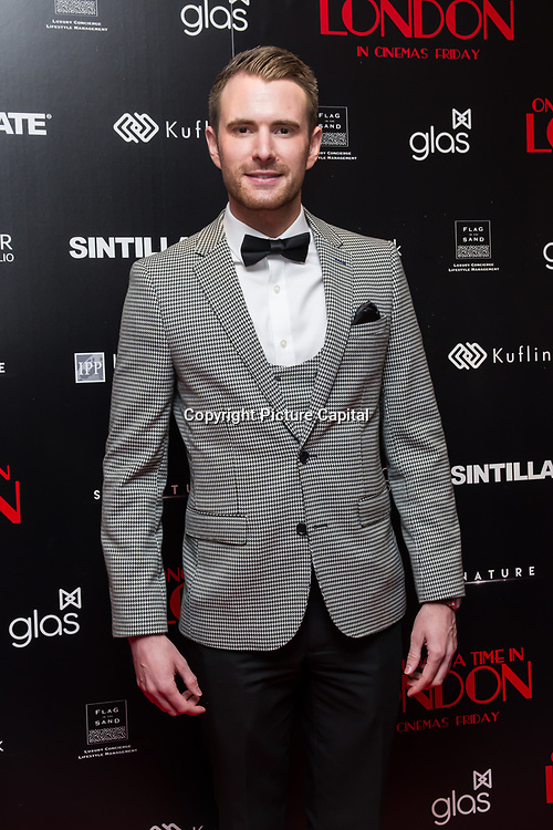 Richard Jones Arrivers at Once Upon a Time in London - London premiere of the rise and fall of a nationwide criminal empire that paved the way for notorious London gangsters the Kray Twins and the Richardsons at The Troxy 490 Commercial Road, on 15 April 2019, London, UK.