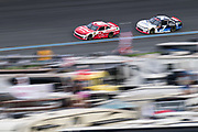 September 28-30, 2018. Charlotte Motorspeedway, Xfinity Series, Drive for the Cure 200: Matt Tifft, Richard Childress Racing, Chevrolet, Justin Allgaier, JR Motorsports, Chevrolet