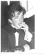 hon. Maurice Roche, 1985. © Copyright Photograph by Dafydd Jones 66 Stockwell Park Rd. London SW9 0DA Tel 020 7733 0108 www.dafjones.com