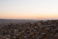 Iran, Tabriz, 22.08.2016: Blick auf die Hauptstadt der Provinz Ost-Aserbaidschan, Tabriz, Nordwest-Iran.
