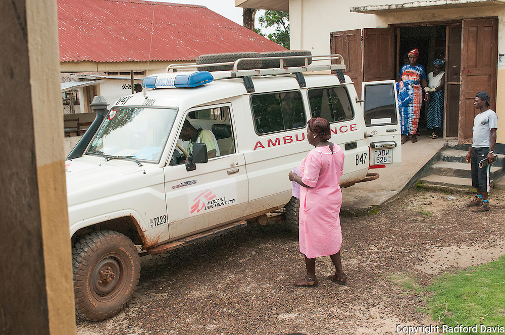 The patient leaves to go to the Doctors Without Borders hospital thanks to the ambulance they provided. Most Lassa virus infections in Africa are mild or subclinical. Several multisystem disease occurs in 5-10% of cases, and 15-25% of those hospitalized will die. Lassa is also causes serious disease and death in children, but diagnosis can often be missed. A more frightening development is spontaneous mucosal bleeding, which can occur in nearly 17%  of patients. This then begins to resemble Ebola. Hearing loss in nearly one-third of survivors can occur.