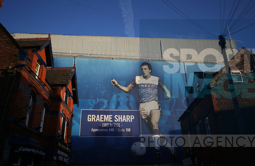 Goodison Park before the Premier League match at Goodison Park, Liverpool. Picture date: December 4th, 2016.Photo credit should read: Lynne Cameron/Sportimage
