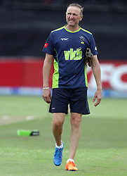 Allan Donald during the T20 Challenge cricket match between the Hollywoodbets Dolphins and VKB Knights  at the Kingsmead stadium in Durban, KwaZulu Natal, South Africa on the 11 Dec 2016<br /> <br /> Photo by:   Steve Haag / Real Time Images