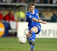 Fotball<br /> Champions League 2003/04<br /> Semifinale, første kamp<br /> Monaco v Chelsea<br /> 20. april 2004<br /> Foto: Digitalspot<br /> NORWAY ONLY<br /> <br /> ROBERET HUTH (CHE)