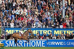 Michaels-Beerbaum Meredith (GER) - Shutterfly<br /> Farewell to competition of Shutterfly<br /> World Equestrian Festival, CHIO Aachen 2011<br /> © Dirk Caremans