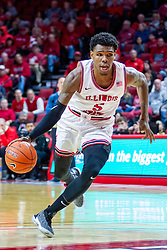 NORMAL, IL - December 07: Keith Fisher III during a college basketball game between the ISU Redbirds and the Morehead State Eagles on December 07 2019 at Redbird Arena in Normal, IL. (Photo by Alan Look)