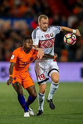 07-10-2016 NED: WK kwalificatie Nederland - Wit-Rusland, Rotterdam<br /> Het Nederlands elftal heeft in De Kuip een 4-1 overwinning op Wit-Rusland geboekt / Quincy Promes