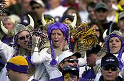 Minnesota Vikings female fans during 18-17 loss to the Arizona Cardinals at Sun Devil Stadium at Sun Devil Stadium in Tempe, Ariz. on Sunday, Dec. 28, 2003.