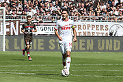 FUSSBALL: 2. Bundesliga, FC St. Pauli . 1. FC Koeln 3:5 Hamburg, 02.09.2018<br /> Jonas Hector (Koeln)<br /> © Torsten Helmke