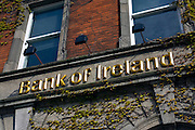 The bank received a 3.5 billion euro Irish government bailout following the 2008 financial crisis.