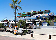 Bars and discos in resort of Playa Blanca, Lanzarote, Canary Islands, Spain