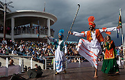 Diwali, also known as the Festival of Lights is the highlight of the Hindu religious calendar. Dancers entertain an overflowing V&A Auditorium. Picture by Greg Beadle Cape Town Waterfront Images by Greg Beadle