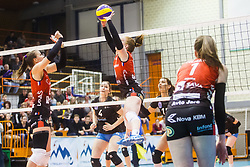 Sara Najdic Nova KBM Branik of during the volleyball match between Calcit Ljubljana and Nova KBM Maribor at 2017 Slovenian Women Cup Final, on March 18th, 2017, SD Planina, Kranj, Slovenia. Photo by Grega Valancic / Sportida