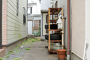 shelf storage outside the home Japan