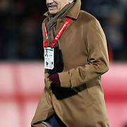 Trabzonspor's coach Senol GUNES during their Turkey Cup Group B matchday 5 soccer match Besiktas between Trabzonspor at the Inonu stadium in Istanbul Turkey on Wednesday 26 January 2011. Photo by TURKPIX