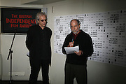 Elliot Grove and Sandy Lieberman, 9th British Independent Film awards Announce Nominations and Jury today at Soho House. Supported by the UK Film council and Mac cosmetics.  Old Compton st. London. 25 October 2006. -DO NOT ARCHIVE-© Copyright Photograph by Dafydd Jones 66 Stockwell Park Rd. London SW9 0DA Tel 020 7733 0108 www.dafjones.com