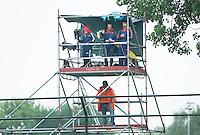 AMSTERDAM - Hockey - Videotoren.   Interland tussen de vrouwen van Nederland en Groot-Brittannië, in de Rabo Super Serie 2016 .  COPYRIGHT KOEN SUYK