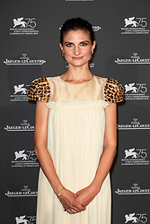 Felicitas Rombold attends the Jaeger Le-Coultre Gala night held at Arsenale Docks during the 75th Venice Film Festival at Sala Grande on September 4, 2018 in Venice, Italy. Photo by Marco Piovanotto/ABACAPRESS.COM
