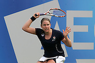 Aegon Classic international women's tennis at the Priory Club, Birmingham ,England on Monday 8th June 2009. Melanie South of Great Britain in action.