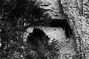 Photograph of Ancient 3 Mile House in Gila National Forest,  New Mexico