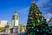 Christmas Tree at the Farmers Market, Los Angeles, California, USA