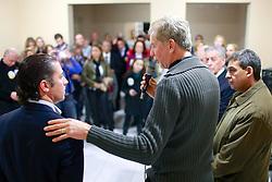 José Fortunati durante lançamento da candidatura do Gilson Padeiro. FOTO: Jefferson Bernardes / Preview.com