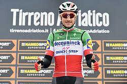 March 15, 2019 - Pomarance, Pisa, Italia - Foto LaPresse/Fabio Ferrari .15/03/2019 Pomarance (Italia) .Sport Ciclismo.Tirreno-Adriatico 2019 - edizione 54 - da Pomarance.a Foligno  (226 km) .Nella foto:durante la gara...Photo LaPresse/Fabio Ferrari .March 15, 2018 Pomarance (Italy).Sport Cycling.Tirreno-Adriatico 2019 - edition 54 - Pomarance to.Foligno (140 miglia) .In the pic:during the race. (Credit Image: © Fabio Ferrari/Lapresse via ZUMA Press)