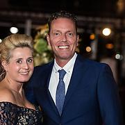 NLD/Amsterdam/20171012 - Televizier-Ring Gala 2017, Rob Geus en partner Suzanne Ozek