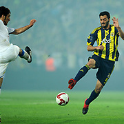 Fenerbahce's Daniel Gonzalez GUIZA (R) during their Turkish superleague soccer derby match Fenerbahce between Trabzonspor at the Sukru Saracaoglu stadium in Istanbul Turkey on Sunday 16 May 2010. Photo by TURKPIX