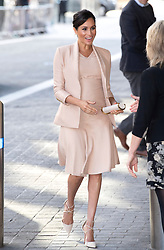 The Duchess of Sussex visits the National Theatre, London. Earlier this month The Duchess was announced as Patron of the National Theatre, one of two Patronages passed on by Her Majesty The Queen. Photo credit should read: Doug Peters/EMPICS