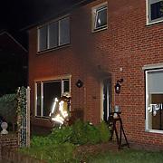 Woningbrand Frans Halslaan 19 Huizen, rookontwikkeling