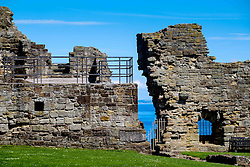 A detail of St Andrews Castle, St Andrews, Fife, Scotland<br /> <br /> (c) Andrew Wilson | Edinburgh Elite media