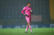 Rochdale goalkeeper Gavin Bazunu during the EFL Sky Bet League 1 match between Rochdale and Oxford United at the Crown Oil Arena, Rochdale, England on 26 January 2021.