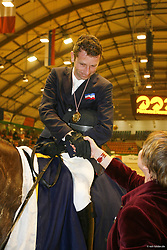 , Neumünster - VR Classics 15 - 19.02.2006, Ehrungen der Champion in Dressur, Ponyspringen u. Springen 16.02.2006